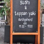 Gastronomie Werbeschilder