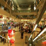 Displaysysteme im Einkaufszentrum