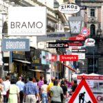 Werbeschilder Altstadt